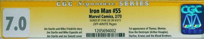 CGC Label Signature Series