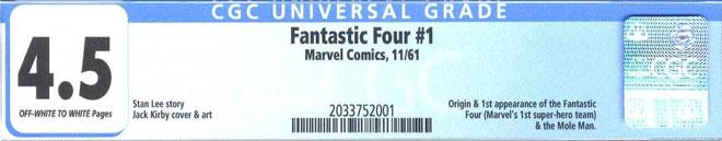 CGC Label Universal