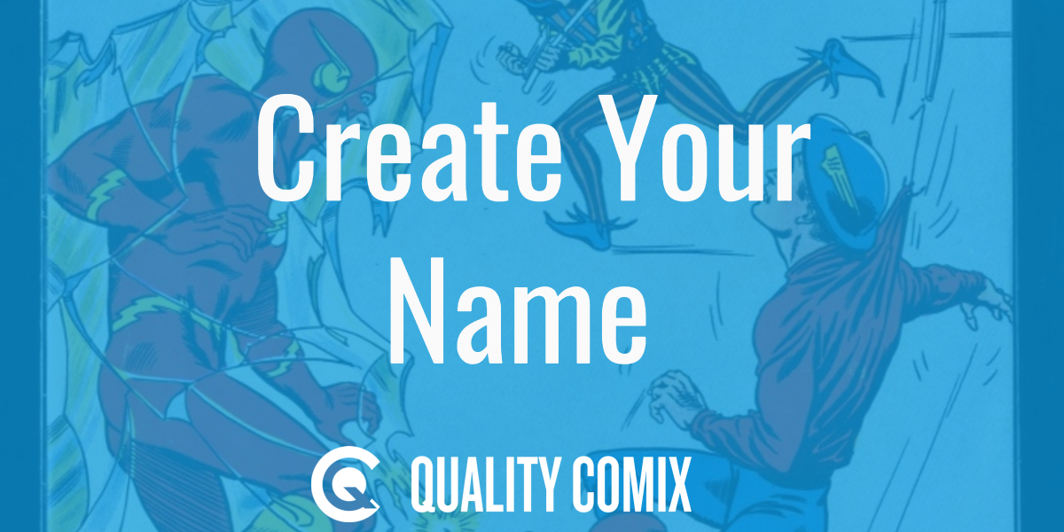 superhero name