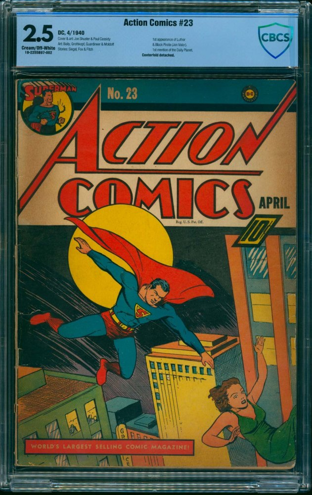 Cover Scan: Action Comics