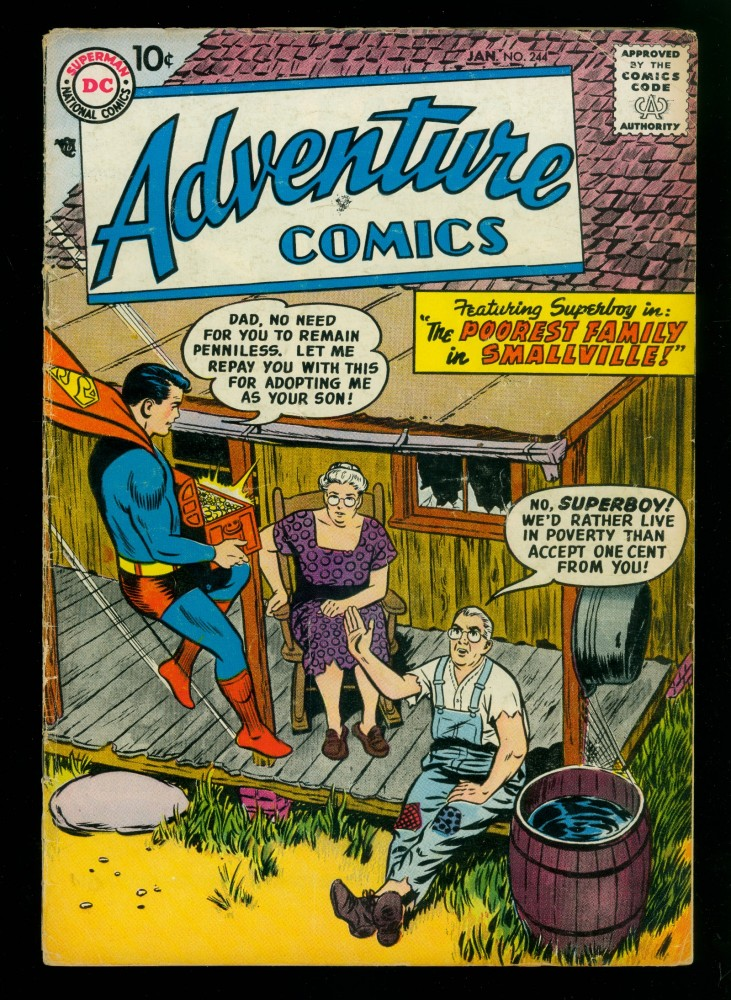 Cover Scan: Adventure Comics