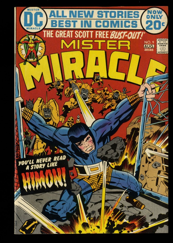 Mister Miracle #9 NM- 9.2
