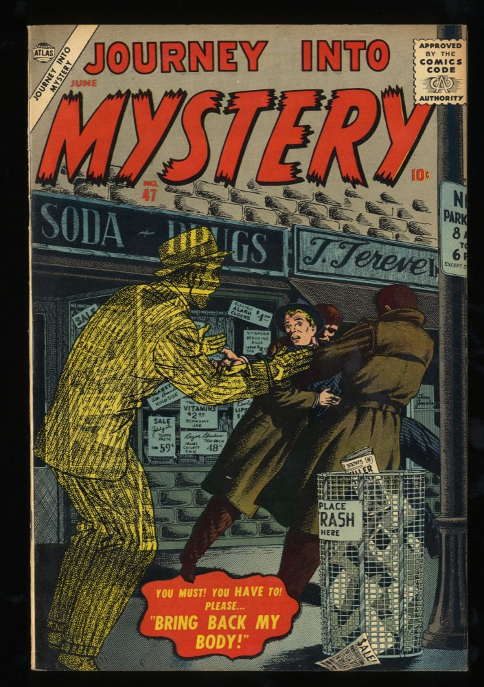 Journey Into Mystery #47 VF 8.0 Circle 8