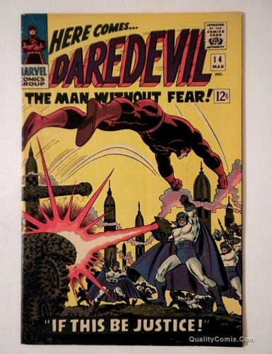 Item: Daredevil #14 FN+ 6.5 Ramey Collection