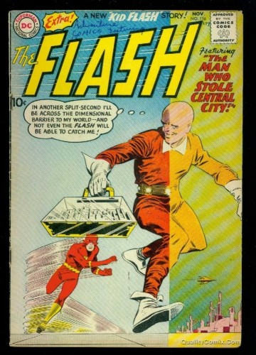 Item: Flash #116 VG+ 4.5