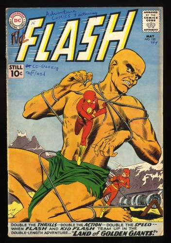 Item: Flash #120 VG 4.0