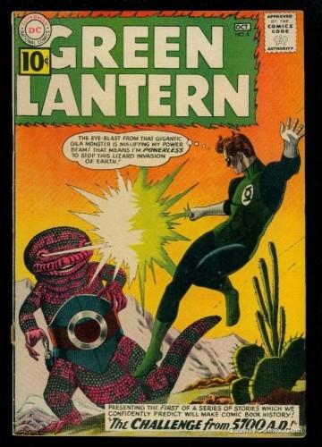 Item: Green Lantern #8 VG+ 4.5