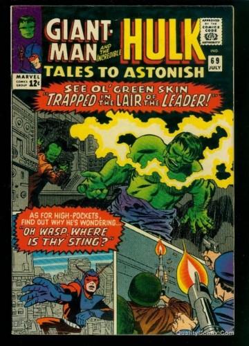 Item: Tales To Astonish #69 VF 8.0