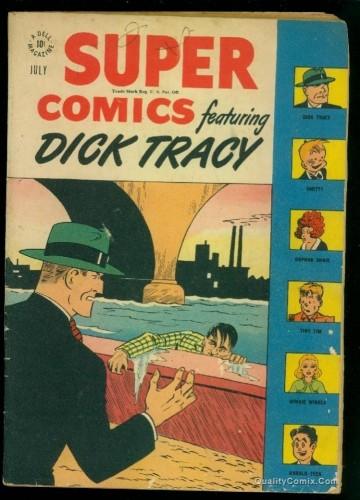 Item: Super Comics #110 VG 4.0