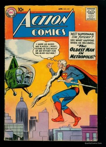 Item: Action Comics #251 VG 4.0