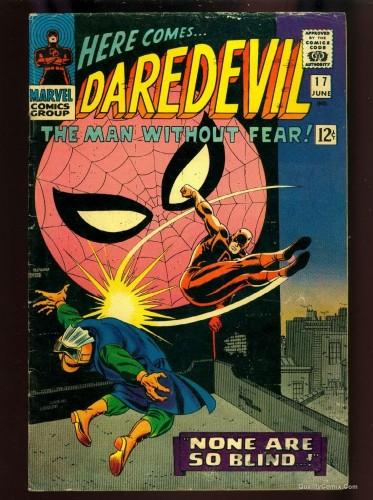 Item: Daredevil #17 VG 4.0 Tongie Farm Collection
