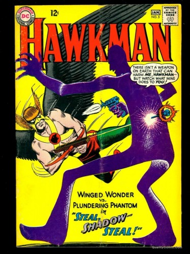 Item: Hawkman #5 VG+ 4.5 Tongie Farm Collection