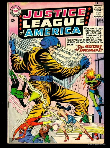 Item: Justice League Of America #20 VG- 3.5 Tongie Farm Collection