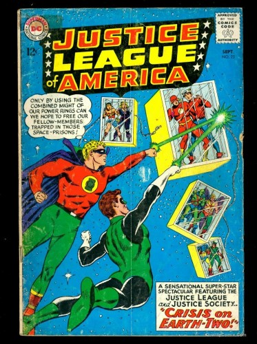 Item: Justice League Of America #22 GD 2.0 Tongie Farm Collection
