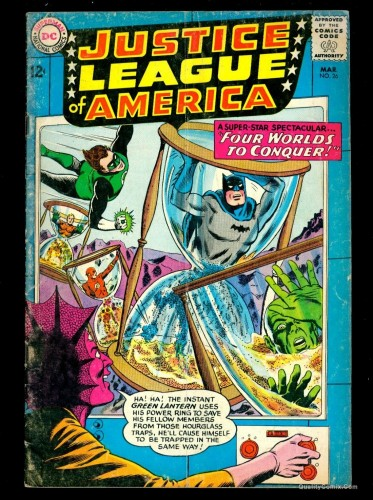 Item: Justice League Of America #26 GD/VG 3.0 Tongie Farm Collection