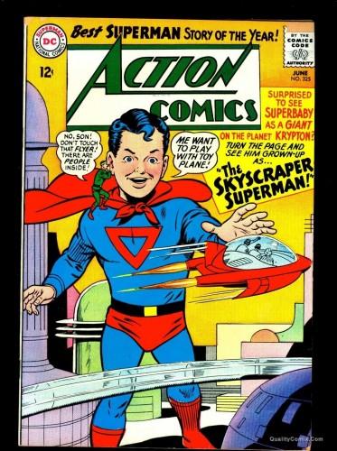 Item: Action Comics #325 VF- 7.5