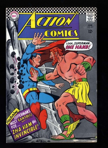 Item: Action Comics #351 VF+ 8.5