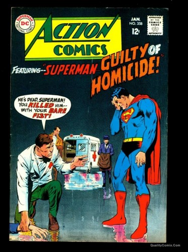 Item: Action Comics #358 FN/VF 7.0