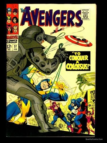 Item: Avengers #37 VF/NM 9.0