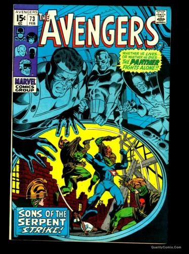 Item: Avengers #73 NM 9.4