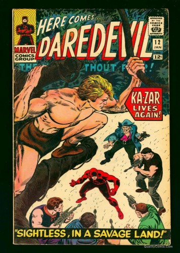 Item: Daredevil #12 VG/FN 5.0