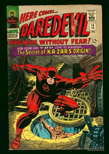 Item: Daredevil #13 VG/FN 5.0