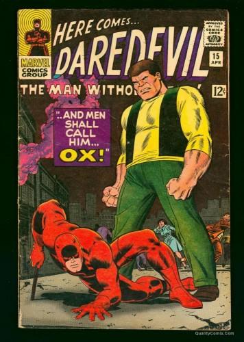 Item: Daredevil #15 VG/FN 5.0