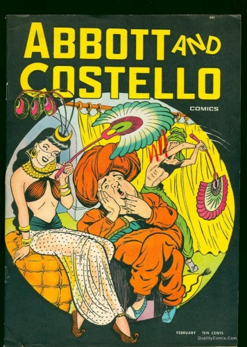 Item: Abbott and Costello #6 VF- 7.5