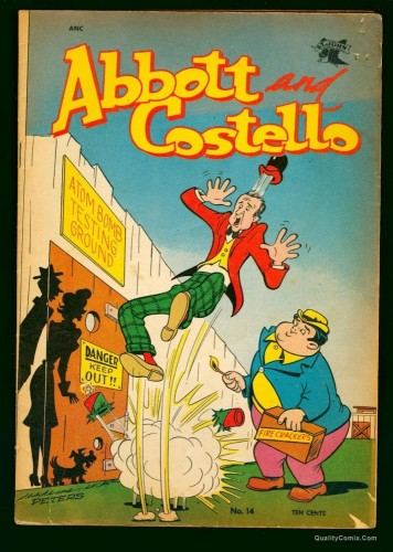 Item: Abbott and Costello #14 VG- 3.5