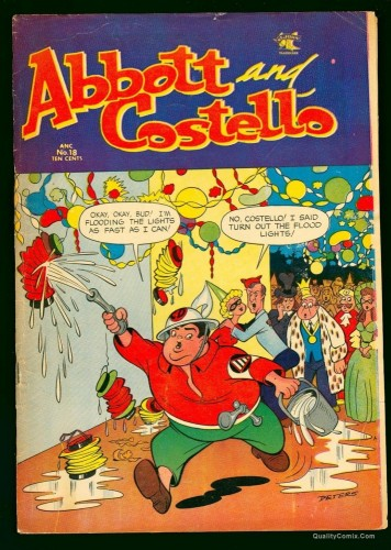 Item: Abbott and Costello #18 VG+ 4.5