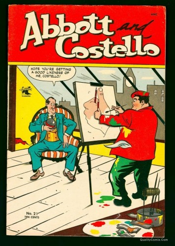 Item: Abbott and Costello #21 FN+ 6.5