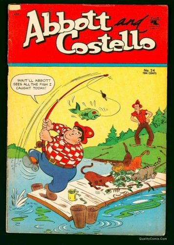 Item: Abbott and Costello #24 VG 4.0
