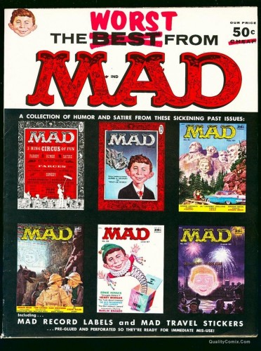 Item: The Worst From Mad #1 VF+ 8.5