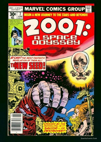 Item: 2001: A Space Odyssey #7 NM/M 9.8