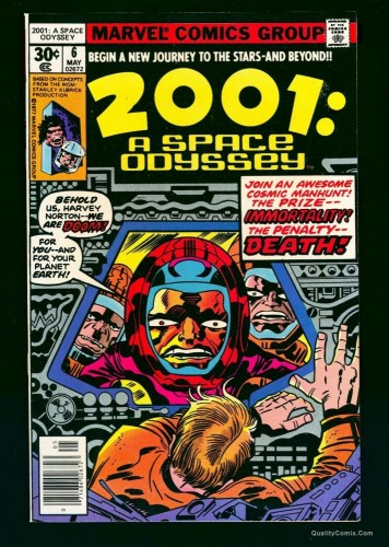 Item: 2001: A Space Odyssey #6 NM+ 9.6