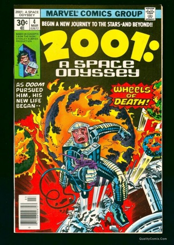 Item: 2001: A Space Odyssey #4 NM+ 9.6