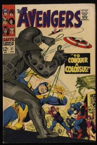 Item: Avengers #37 VF- 7.5
