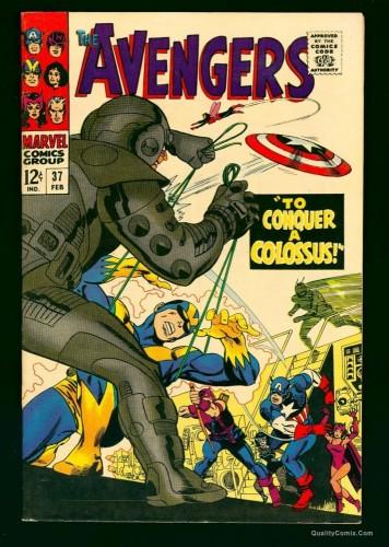Item: Avengers #37 VF+ 8.5