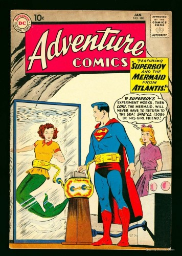 Item: Adventure Comics #280 VG+ 4.5
