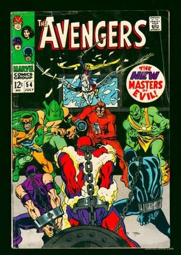 Item: Avengers #54 GD/VG 3.0