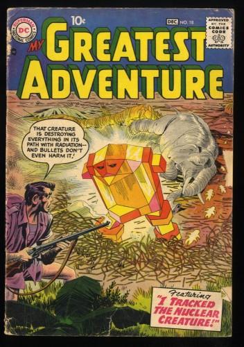 Item: My Greatest Adventure #18 GD- 1.8