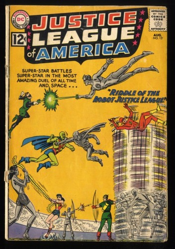 Item: Justice League Of America #13 GD 2.0