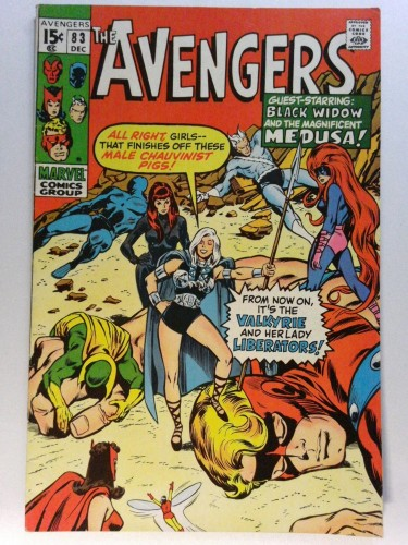Item: Avengers #83 FN/VF 7.0