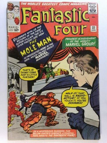 Item: Fantastic Four #22 VG 4.0