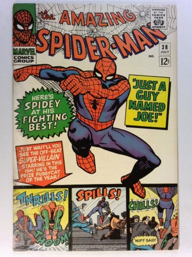 Item: Amazing Spider-Man #38 GD/VG 3.0