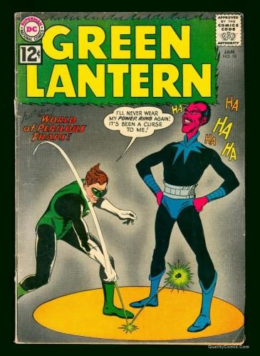 Item: Green Lantern #18 VG 4.0 Off-White to White