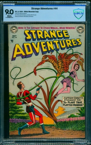 Item: Strange Adventures #44 CBCS VF/NM 9.0 White White Mountain