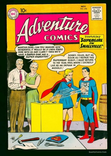 Item: Adventure Comics #278 FN 6.0 Off-White to White