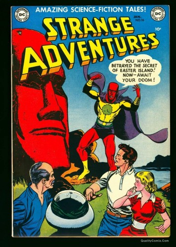 Item: Strange Adventures #16 NM 9.4 Diamond Run