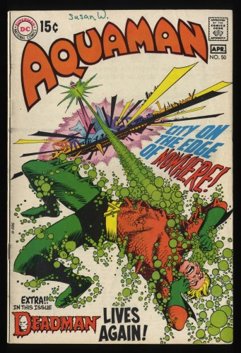 Item: Aquaman #50 FN 6.0